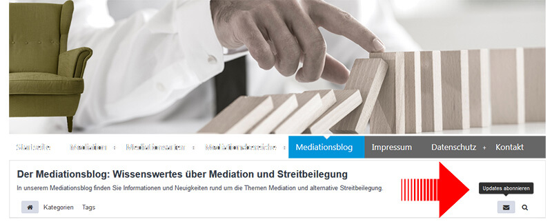 Mediationsblog abonieren